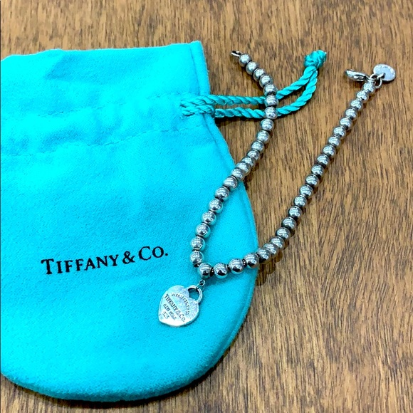 TIFFANY & CO Return to Tiffany Blue Heart Bracelet
